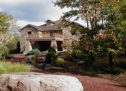 The Inn at Hickory Run, front view