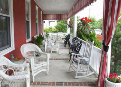 Spring Lake Inn, patio