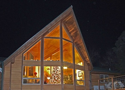 Prow'd House Bed & Breakfast, Night View