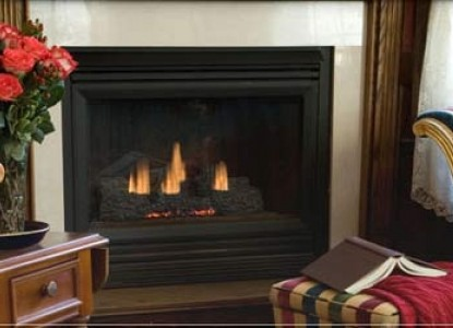 Spring Lake Inn, fireplace