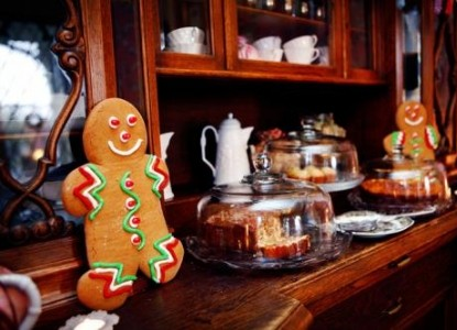 1853 Inn at Woodhaven gingerbread