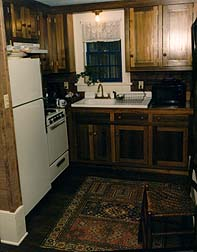 Clock Creek Cabin - Kitchen