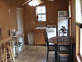 Oak Hill Farm and Cabins Kitchen