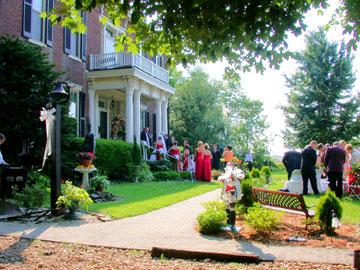 Maple Hill Manor B&B, Alpaca & Llama Farm, and Fiber Farm Store, Weddings
