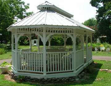 Magnolia Grove Bed & Breakfast, Gazebo