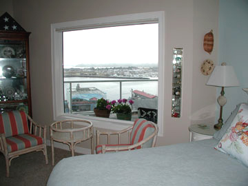 The Lightkeeper's Inn Bed and Breakfast, View From The Shell Seeker Suite