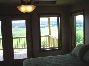 Calico Rock Cabin, room with a  view
