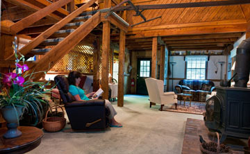 Mountain Top Lodge at Dahlonega Great Room