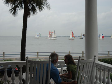 The Palmer Home, View of Charleston Harbour