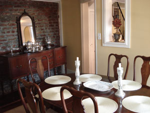 The Palmer Home, Carriage House Dining Room