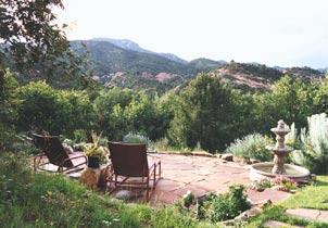 Hughes Hacienda Bed & Breakfast - Colorado Springs, Colorado Mountain Views