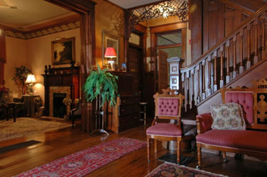 1899 Wright Inn and Carriage House Grand Entry & Foyer