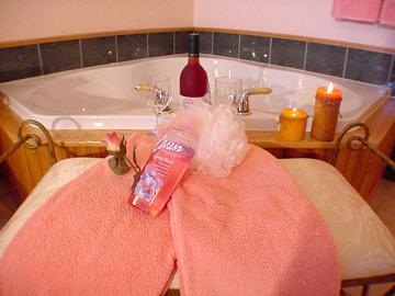 Romantic Whirlpool Tub