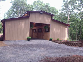 The Stables of Pilot Knob