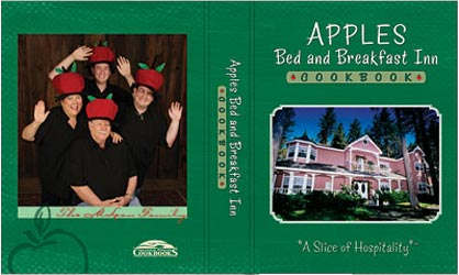 Apples Bed and Breakfast Inn, Cookbook