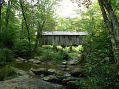 The Pisgah Covered Bridge