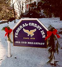 Federal Crest Inn Bed &amp; Breakfast Lynchburg, Virginia