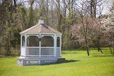 Relax in the Gazebo