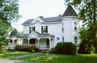 Southern Heritage Bed & Breakfast, front of inn