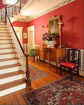 Middleton Inn B&B Grand Staircase