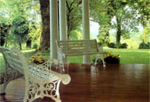 Prospect Hill Plantation Inn Find Peace and Serenity in the Wedding Pavilion