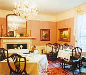 The Rose Room, the Former 1840 Ballroom of the Manor