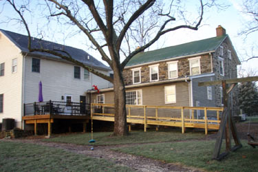 Back Deck and Ramp