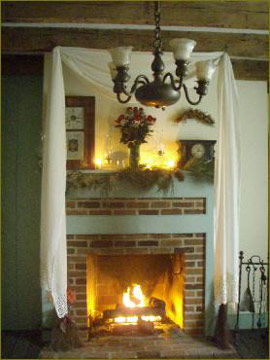 Battlefield Bed & Breakfast Inn fireplace