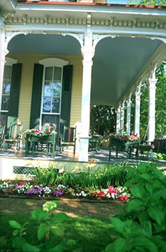The Mainstay Inn porch
