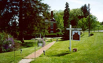 The 1819 Red Brick Inn-Spicer-Millard House