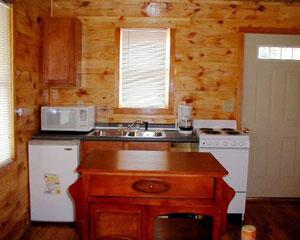 Hunter's Run Lodge Bed & Breakfast Kitchen