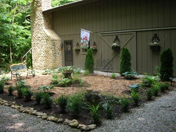 The Wooded Garden Bed & Breakfast - Wilmington, Ohio