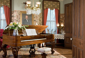 1869 Steinway Square Grand Piano
