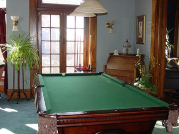 Beiderbecke Inn Bed & Breakfast, Enjoy A Game of Pool
