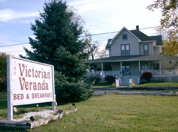 The Victorian Veranda Bed &amp; Breakfast - Winnebago, Illinois