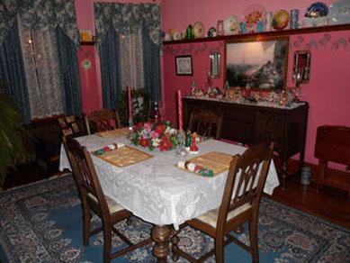The Harkins House Inn, Dining Room