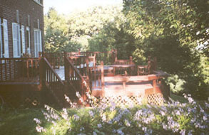 Top O' The Morning Bed & Breakfast Inn Deck