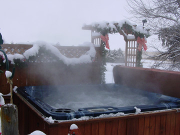 Let The Hot Tub Melt Away Your Stress