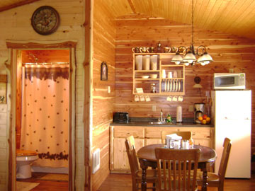 Dacha Bed & Breakfast Kitchen