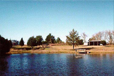 View of Pond &amp; Cottage