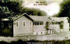 Carmel Cove Inn at Deep Creek Lake, Early Picture of Inn