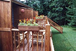 Carmel Cove Inn at Deep Creek Lake, Deck