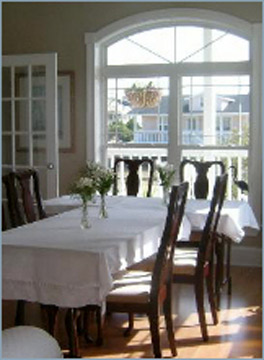 The Sunset Inn, Sunset Beach, North Carolina-Dining Room