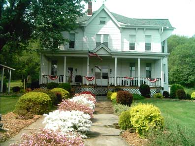 The Victorian Rose Bed and Breakfast - Leisenring, Pennsylvania