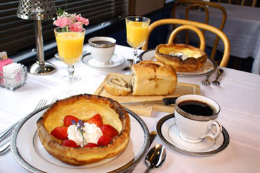 Enjoy A Multi-course Gourmet Breakfast