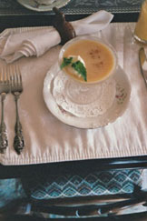 Elegant Peach Soup