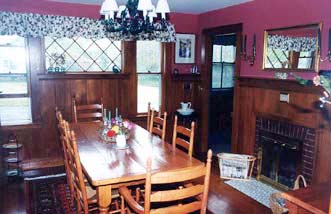 Cranberry Gardens Inn Dining Room