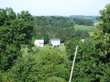 Life O'Riley Farm & Guesthouse, aerial view