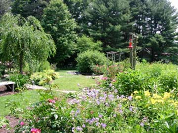 Hickory Ridge House Bed & Breakfast Relax In Our Beautiful Gardens