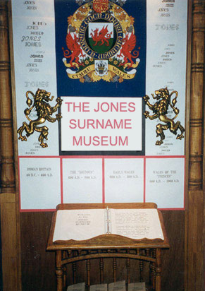 The Jones Surname Museum